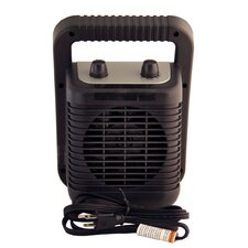 Ceramic Compact Space Heater with Adjustable Thermostat