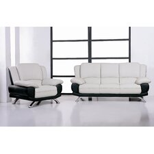 Caelyn Leather Living Room Collection