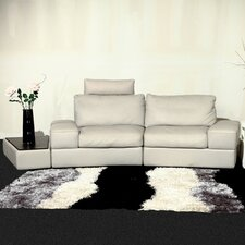 Modi Leather Modular Loveseat