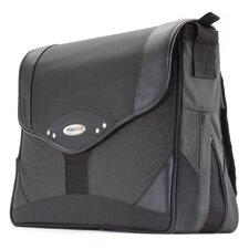 Premium Messenger Bag in Charcoal / Black