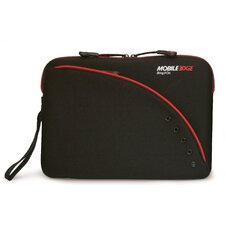 Ultra Portable SlipSuit Laptop Sleeve in Black/Red
