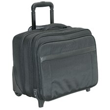 N - 5 Wheeled Laptop Case in Black