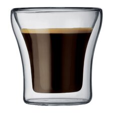 Assam 25 oz. Double Wall Shot / Espresso Glasses