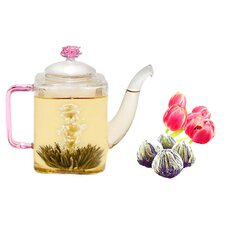 Romeo Premium Blooming Jasmine Tea Set