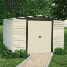 Dallas Vinyl Coated Steel Storage Shed