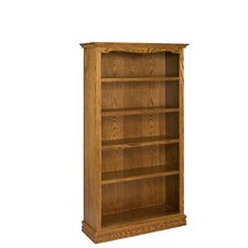 "Americana 72"" Oak Bookcase"