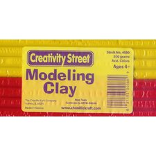Exruded Modeling Clay 6 Assorted Colors