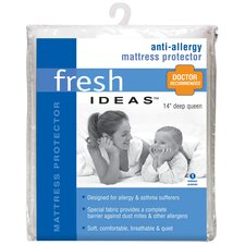 Anti-Allergy Polyester Mattress Protector