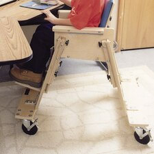 Caster Base for Low Kinder Chair with tray