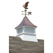 Belvedere Cupola with Copper Roof and Weathervane