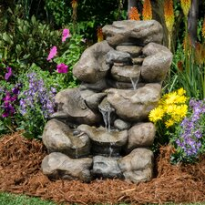 River Rock Envirostone Rock Fountain