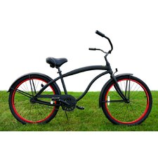 Men's Single Speed Aluminum Beach Cruiser