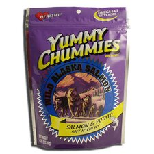 "7.75"" Yummy Chummies Salmon and Potato Soft N' Chewy Dog Treat"