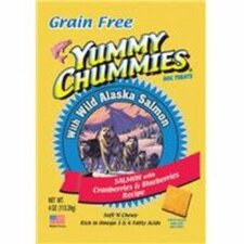 Yummy Chummies Salmon and Berries - Grain Free Dog Treat