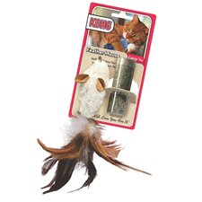 Feather Mouse Cat Toy