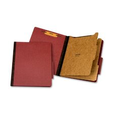Classification Folder, 2 Partitions, Letter