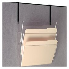 "Wall File, 13""x4-1/8""x7"", Letter, Clear"