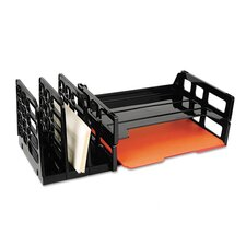 3-Compartment Sorter With 2 Letter Trays