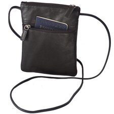 Harness Cowhide Leather Mini-Tote/Passport Holder