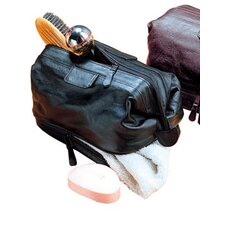 Cowhide Leather Travel Kit