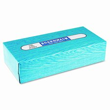 Facial Tissue, Flat Box, 100 Sheets/Box, 30 Boxes/Case