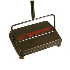 "46"" Workhorse Carpet Sweeper in Black"