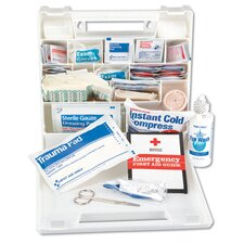 First Aid Kit for 50 People, 194 Pieces, Plastic Case