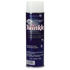 Johnson Diversey - Twinkle Stainless Steel Cleaner & Polish Twinkle Stainless Steelpolish - Aerosol 17 Oz: 395-91224 - twinkle stainless steelpolish - aerosol 17 oz