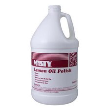 1 Gallon Lemon Oil Furniture Polish Bottle