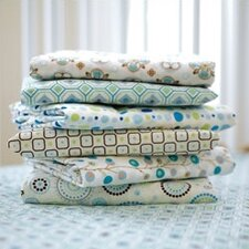 Small Moroccan Pattern Crib Sheet