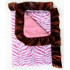 Boutique Zebra Ruffle Blanket