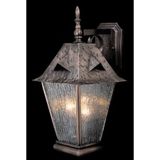 Fortress 3 Light Wall Lantern