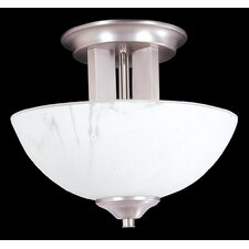 Solstice 2 Light Semi Flush Mount