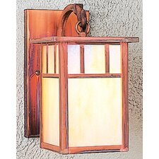 Huntington 1 Light Outdoor Wall Lantern