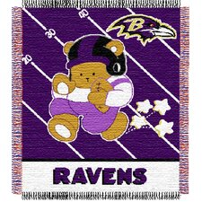 NFL Baby Triple Woven Jacquard Throw