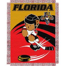 NHL Baby Triple Woven Jacquard Throw