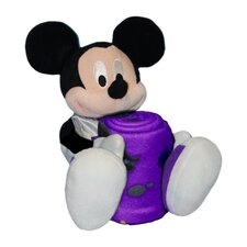 NBA Mickey Mouse Fleece Throw