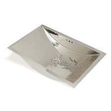Metal Rectangle Bathroom Sink