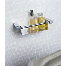 "Metric 8.7"" x 4.7"" Shower Soap Dish in Polished Chrome"