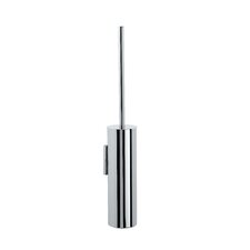 "Complements 3.2"" x 3.2"" Skoati Wall Mount Toilet Brush Holder in Stainless Steel"