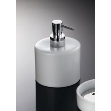 "Complements 3.9"" W x 3.9"" Saon Soap Dispenser in Polished Chrome"