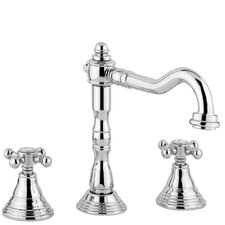 Belinda Widespeard Bathroom Faucet with Double Cross Handles