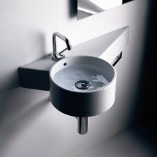 Kerasan Tao Wall Hung Bathroom Sink