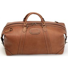 "Adventure 22"" Leather Expandable Travel Duffel"