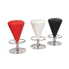 Cone Gas Lift Swivel Barstool