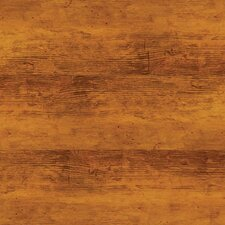 "Solidity 40 Handscraped 6"" x 36"" Vinyl Plank in Aged Walnut"
