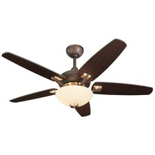 "44"" Versio II 5 Blade Ceiling Fan with Remote"
