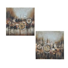 Troy Wall Art (Set of 2)
