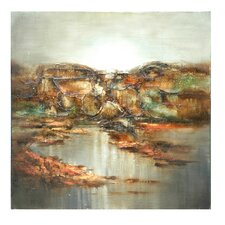 """Hills Tumbling to the Sea"" Wall Art"