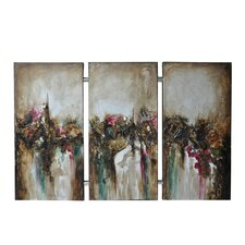Turbulence Wall  Art (Set of 3)
